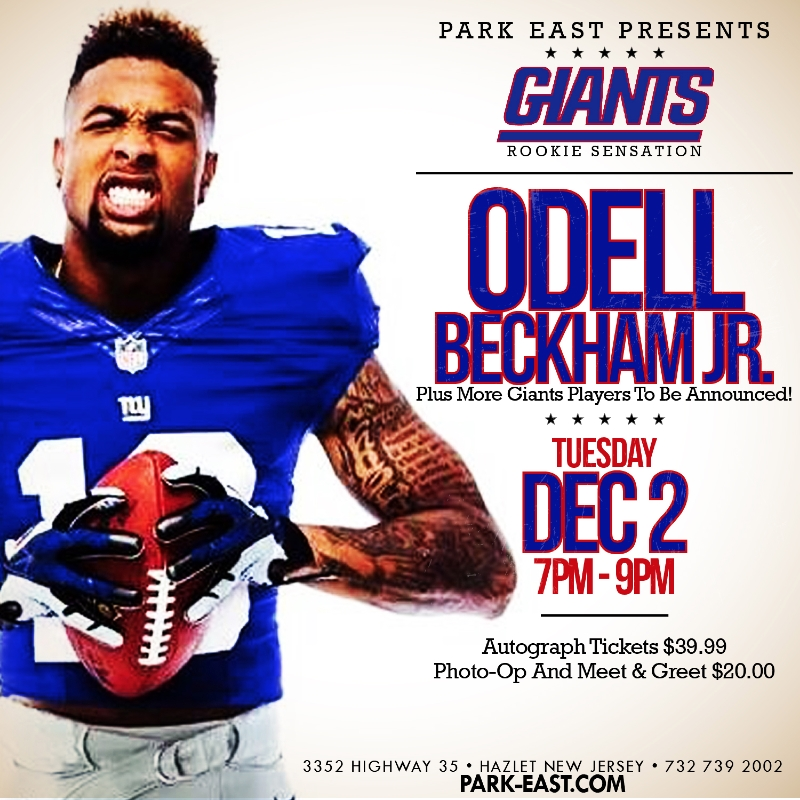 Park east presents odell beckham jr hip new jersey post navigation m4hsunfo