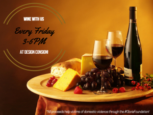 Every Friday 'Wine With Us' at Design Consign! @ Design Consign | Fairfield | New Jersey | United States