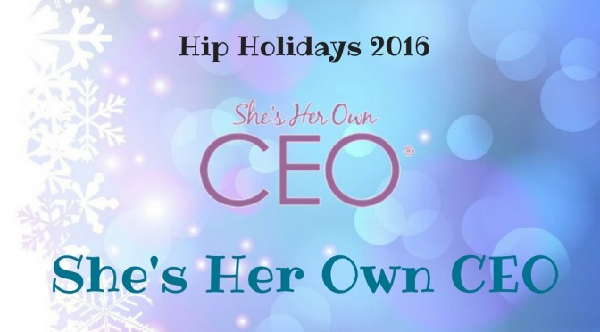 she's her own ceo