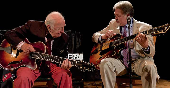 Dorthaan's Jazz Brunch Series: The Bucky Pizzarelli / Ed Laub Duo @ NJPAC NICO Kitchen + Bar | Newark | New Jersey | United States