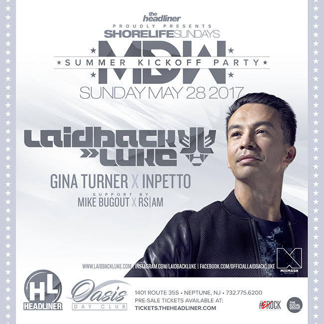 Laidback Luke MDW at the Jersey Shore! @ Headliner Nightclub | New Jersey | United States