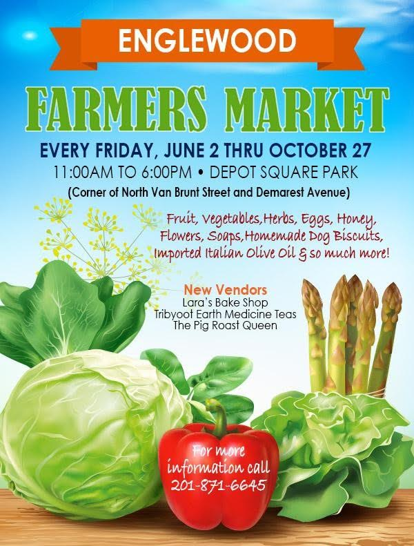 Englewood - A Place For Everyone! Farmers Market @ Depot Square | Englewood | New Jersey | United States