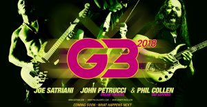 Joe Satriani, John Petrucci, Phil Collen at NJPAC @ NJPAC | Newark | New Jersey | United States