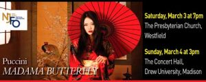 New Jersey Festival Orchestra Presents MADAMA BUTTERFLY @ The Presbyterian Church | Westfield | New Jersey | United States