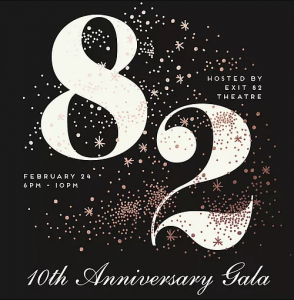 10th Anniversary Gala hosted by Exit 82 Theatre @ The Atlantis Ballroom | Toms River | New Jersey | United States