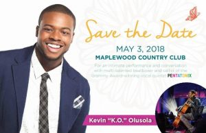 """Meet Musician Kevin """"K.O"""" Olusola from the Pentatonix at Maplewood Country Club @ Maplewood Country Club 