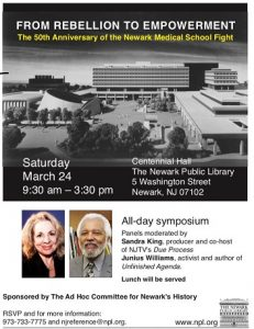 50th Anniversary of the Newark Medical School Fight @ Newark Public Library | Newark | New Jersey | United States