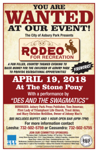 Rodeo for Recreation @ The Stone Pony | Asbury Park | New Jersey | United States