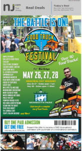 Monmouth Park's Jersey Food Truck Festival @ Monmouth Park  | Oceanport | New Jersey | United States