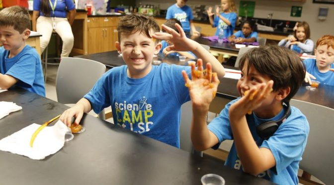 THE LIBERTY SCIENCE CENTER SUMMER FUN SERIES