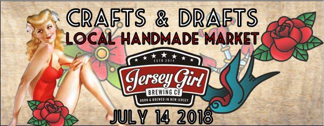 CRAFTS AND DRAFTS AT JERSEY GIRL BREWING SUMMER