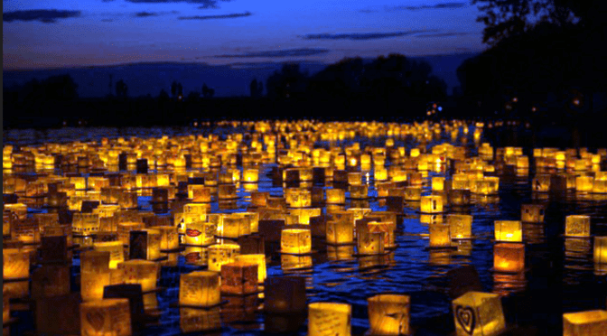 WATER LANTERN FESTIVAL IN JERSEY CITY