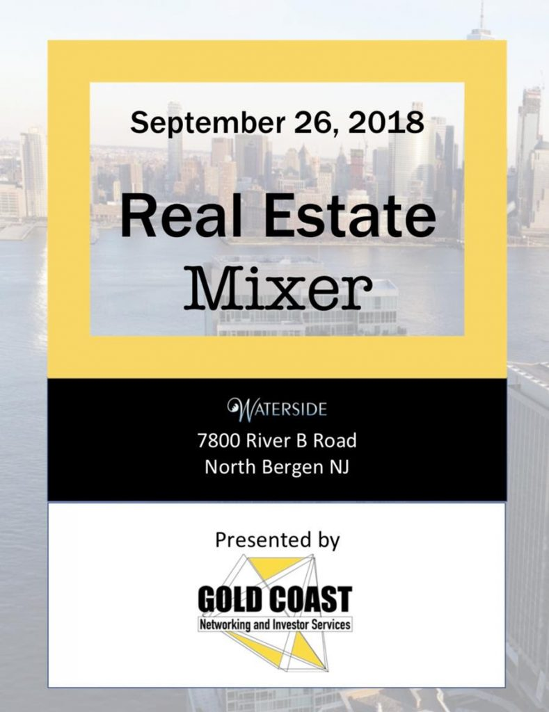 Real Estate Mixer at Waterside @ Waterside | North Bergen | New Jersey | United States