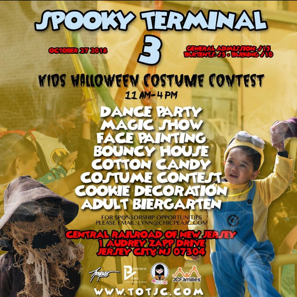 The 3rd Annual Terminal of Terror Halloween Event! @ Historic Central Railroad of NJ | Jersey City | New Jersey | United States