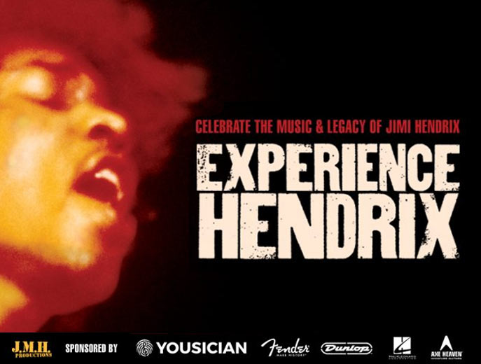 EXPERIENCE HENDRIX TOUR! @ New Jersey Performing Arts Center | Newark | New Jersey | United States