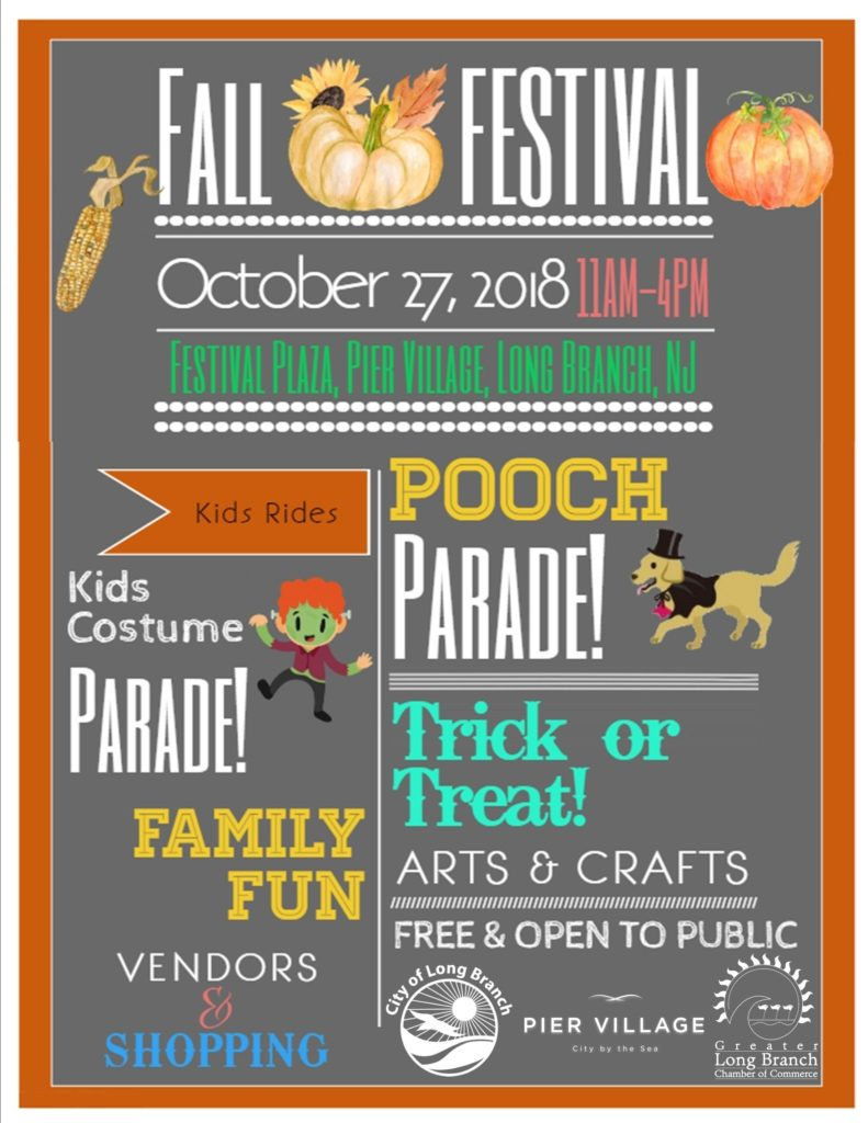 Long Branch Fall Festival & Pooch Parade! @ Pier Village  | Long Branch | New Jersey | United States
