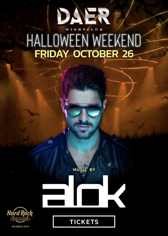 Halloween Weekend at Daer Nightclub AC! @ Hard Rock Hotel & Casino Atlantic City | Atlantic City | New Jersey | United States