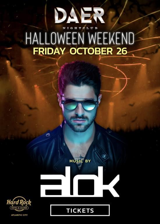 Halloween Weekend at Daer Nightclub AC! @ Hard Rock Hotel & Casino Atlantic City | Atlantic City | New Jersey | United States