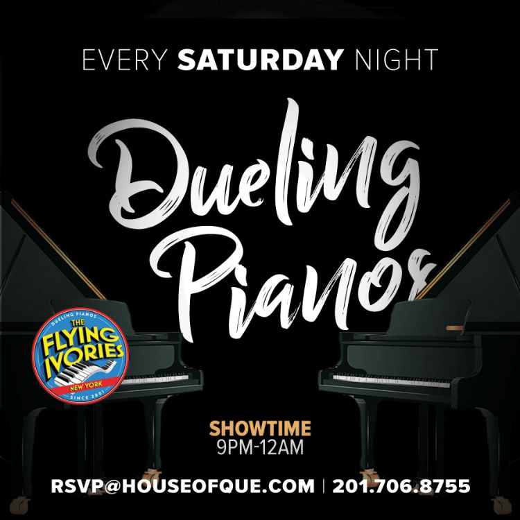 Dueling Pianos @ House of 'Que @ House of 'Que