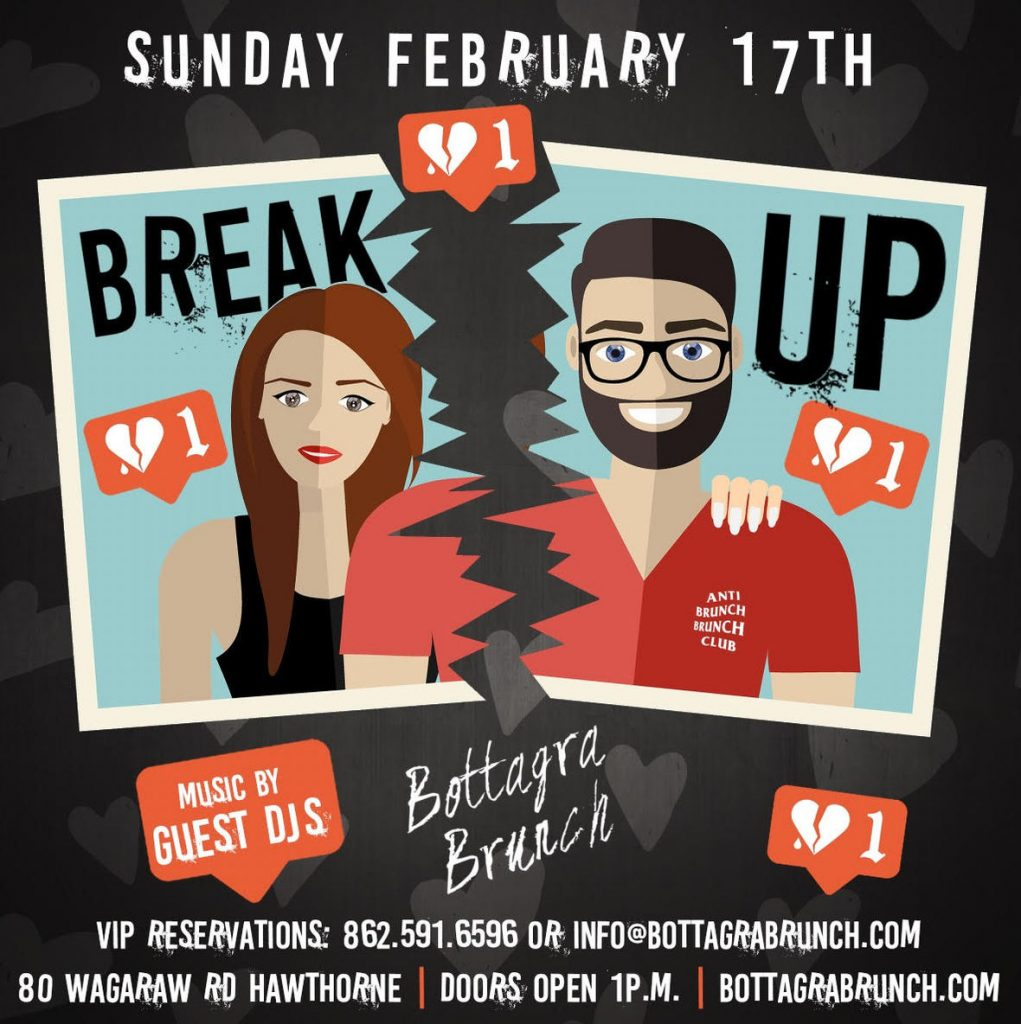 The Break Up by Bottagra Brunch @ Bottagra Restaurant