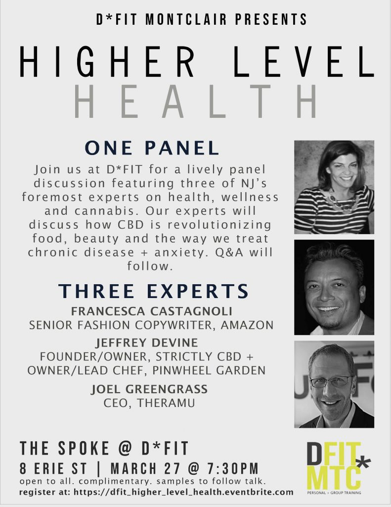 D*Fit Higher Level Health Panel Event @ D*Fit