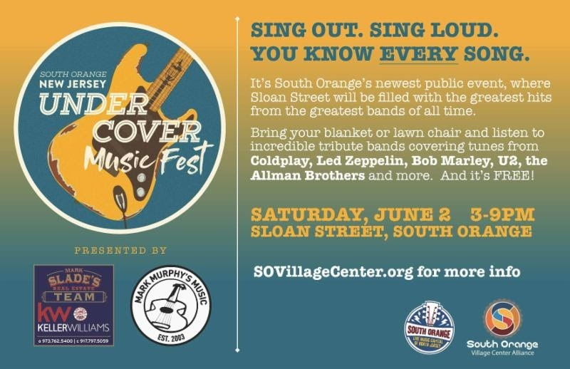 South Orange Urban Cover Music Fest @ Sloan Street, South Orange